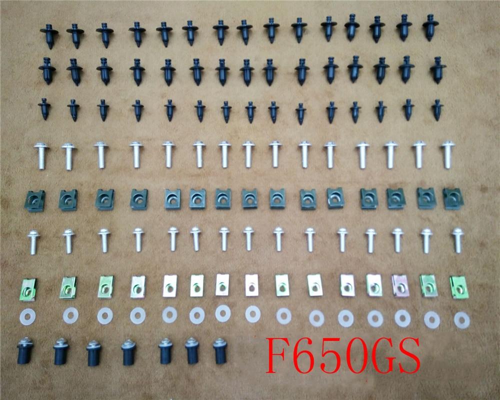 Kit de carenado, tornillos de carrocería para BMW F650GS 2000-2007