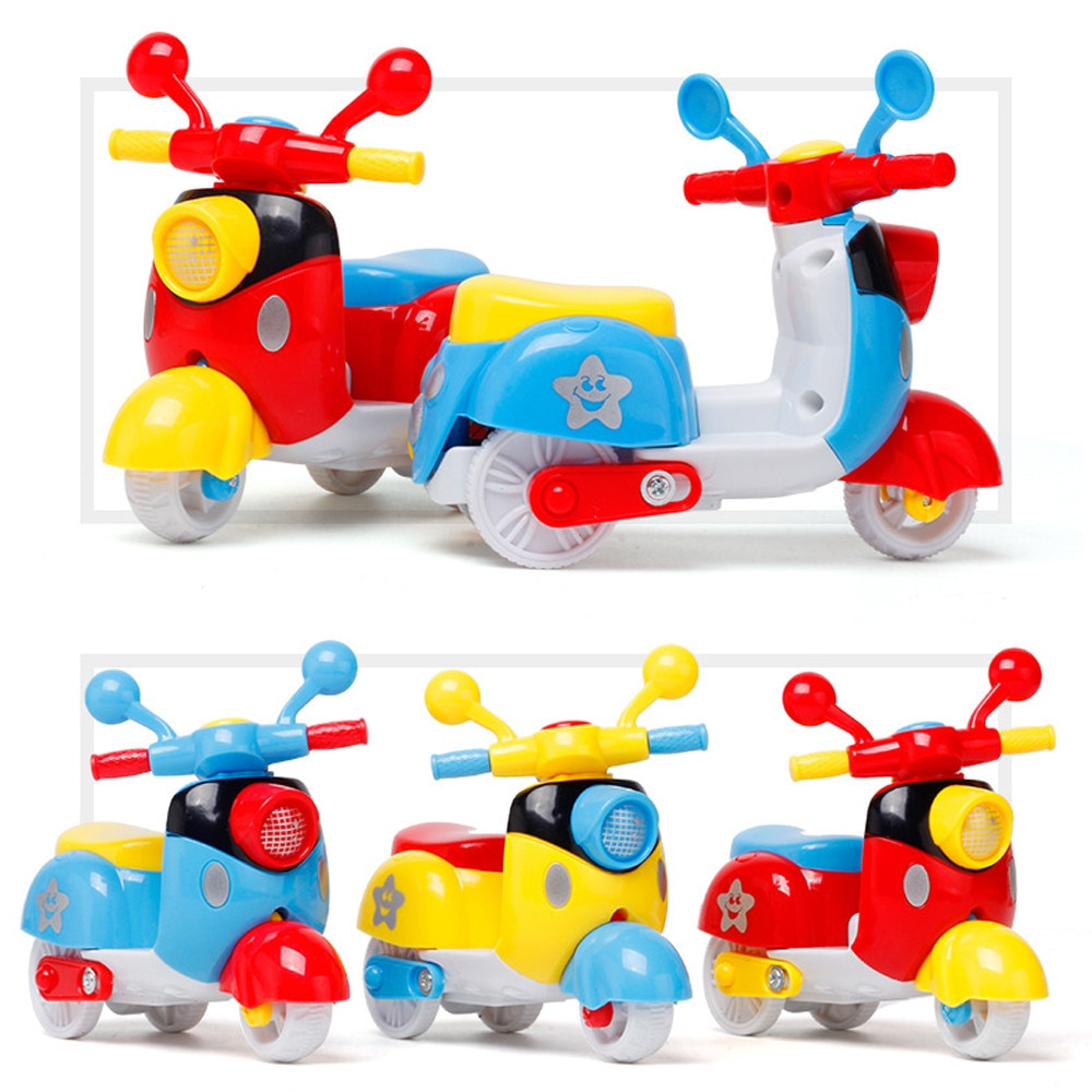 2021 New Fashion Mini Motorcycle Toy Pull Back Diecast Motorcycle Early Model Educational Toys With High Quality Hot Sale mini vintage metal toy motorcycle toys hot wheel safe cool diecast blue yellow red motorcycle model toys for kids collection