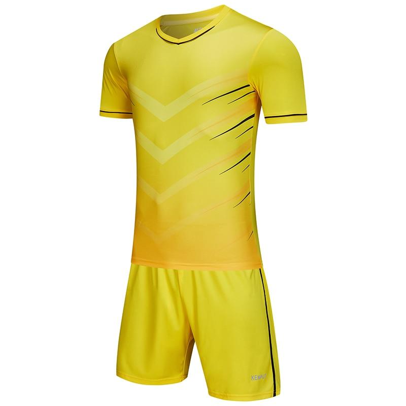 Summer Soccer Kit Middle School Children Training Suit Adult Sweatshirt Outdoor Team Uniform Club Suit Football Kit With Custom