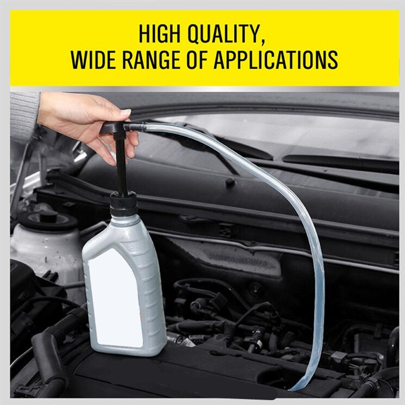 Fuel Oil Diesel Manual Siphon Pump Manual Transmission Gasoline Liquid Pump For Car Manual Gas Oil Liquid Siphon