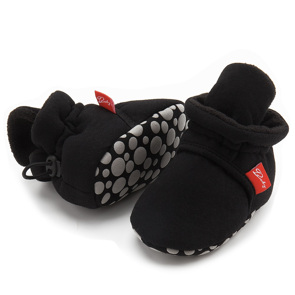 Newborn Shoes Warm Socks Toddler Boots Winter First Walker Baby Girls Boys Soft Sole Snow Booties Uni Crib Shoes zapatos bebe