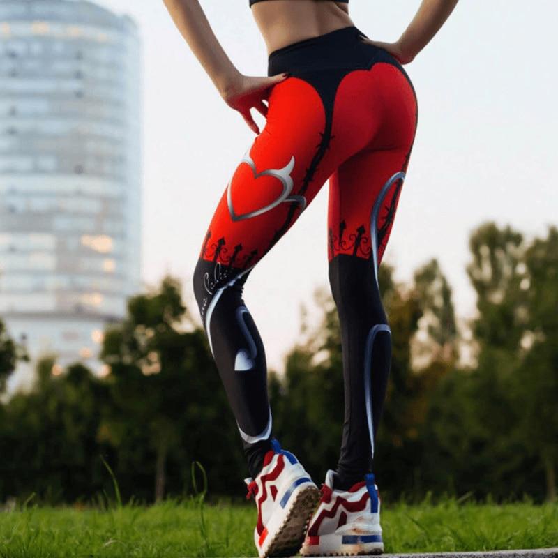 Pantalones Sexy LUSLOS para mujer, mallas para mujer, mallas deportivas para entrenamiento, mallas para correr, Sexy, Push Up, ropa de gimnasio, cintura alta, con flecos elásticos