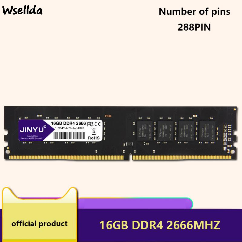 Memory Is Fully Compatible With DDR4 16GB 2666MHz Memory 2400MHz 2666MHz Computer Memory DDR4 RAM Desktop Computer