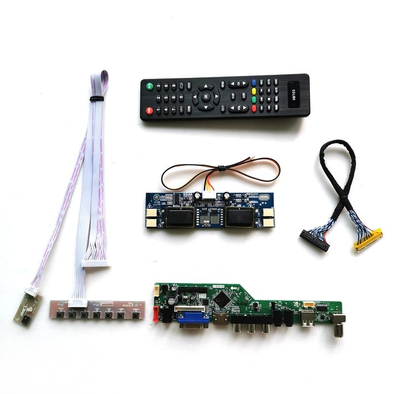 Fit M190E2/M190E3/MT190EN02 الكمبيوتر سطح المكتب 4CCFL 1280*1024 VGA + الصوت + USB + البعيد 19