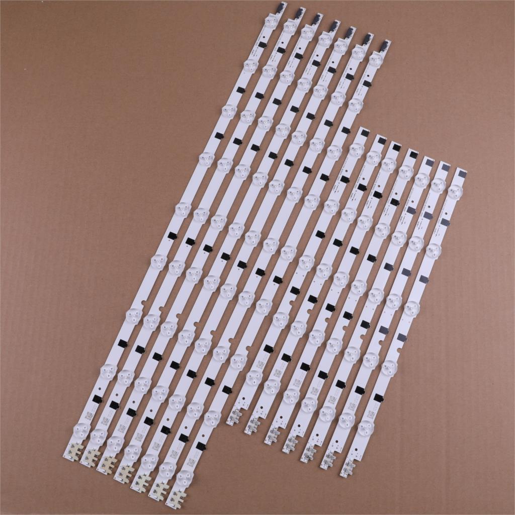 كيت 14 قطعة * 14LED 880 مللي متر LED الخلفية قطاع لسامسونج UE42F5300 D2GE-420SCB-R3 D2GE-420SCA-R3 2013SVS42F BN96-25307A 25306A