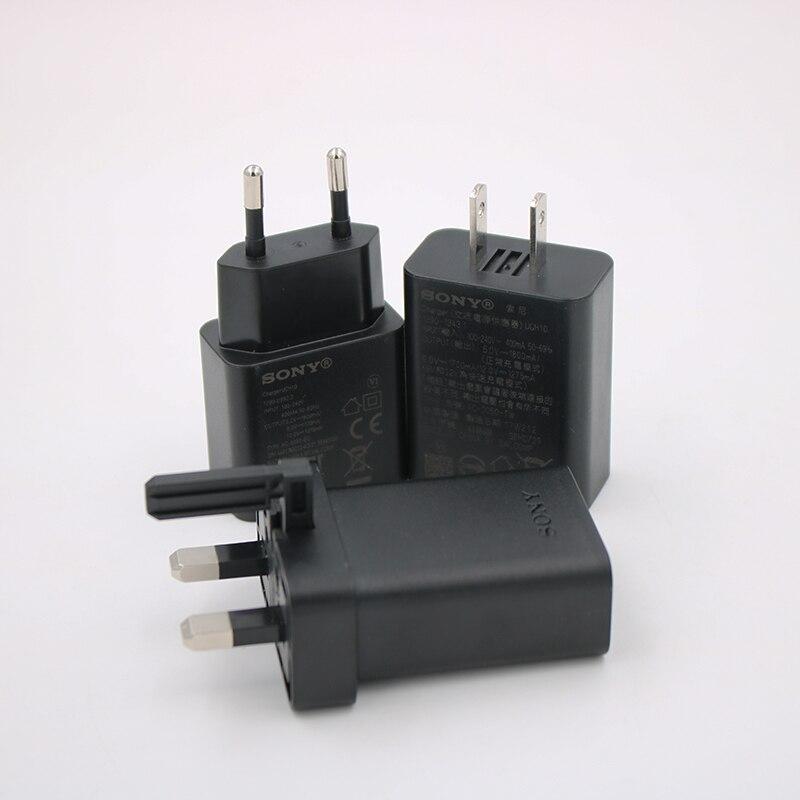 Новое оригинальное настенное зарядное устройство sony UCH10 UCB20 для sony Xperia XZ Premium L1 XZ1 XZ2 XZs XA1 Ultra XA1 XA2 Plus X Compact XZ Premium