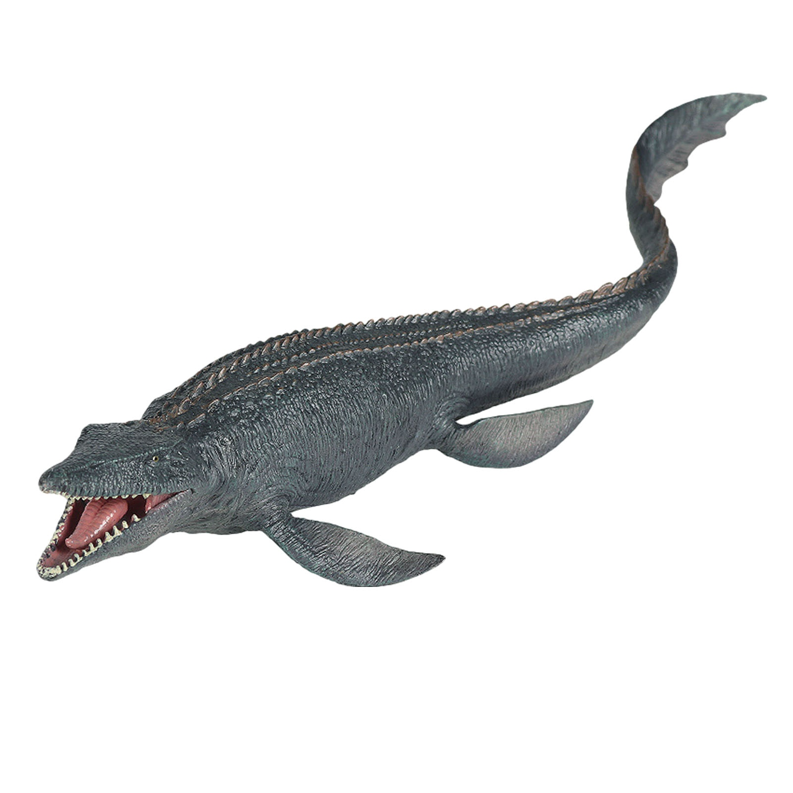High Quality PVC Big Mosasaurus Dinosaur Figure Realistic Ocean Animal Model Dino Toy Collection Dinosaur Toys For Children lifelike dinosaur model static solid mosasaurus dinosaur realistic figures perfect toys decoration for party favor kid toy gift