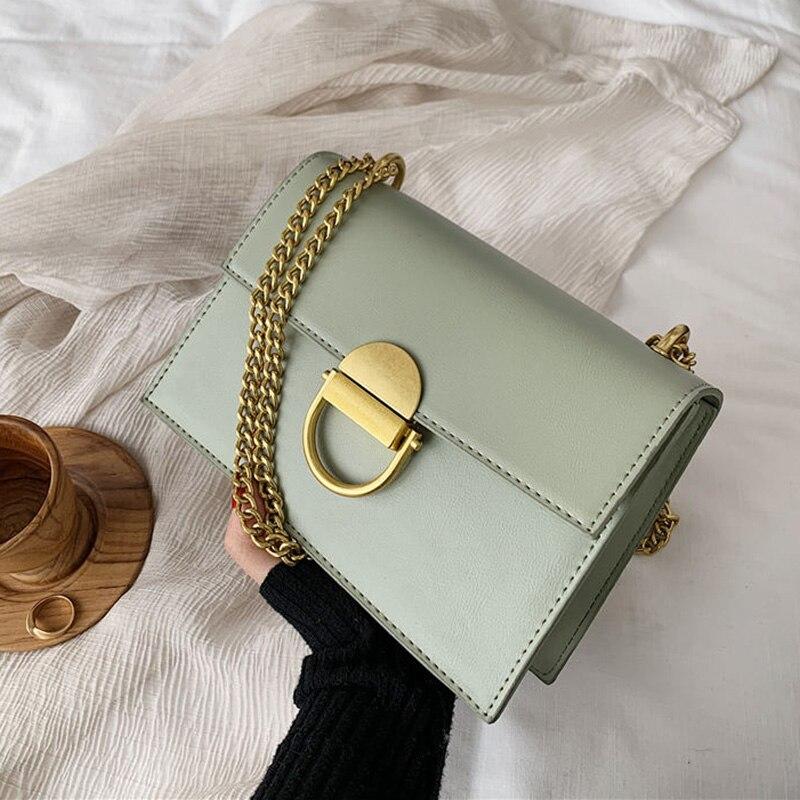 Bolsos y monederos de mujer de alta calidad, bandoleras para mujer, diseño de bloqueo cadena nueva, bolsos de hombro cruzados, bolsos, bolso de mano de día, bolsos