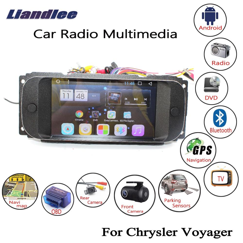Liandlee Android 7.1UP For Chrysler Voyager 2001~2007 Carplay Player Mirror Link GPS Navi Navigation Maps Camera Screen Media