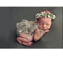 Accesorios de fotografía para recién nacido, conjunto de gorro para bebé, pelele para estudio de fotografía, disfraz para sesión de fotos para niña