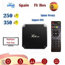 Espagne IPTV premium full HD espagne local en direct espa M3u tv vit prise en charge de la télévision intelligente iptv Android tv box seulement pas de chaînes incluses