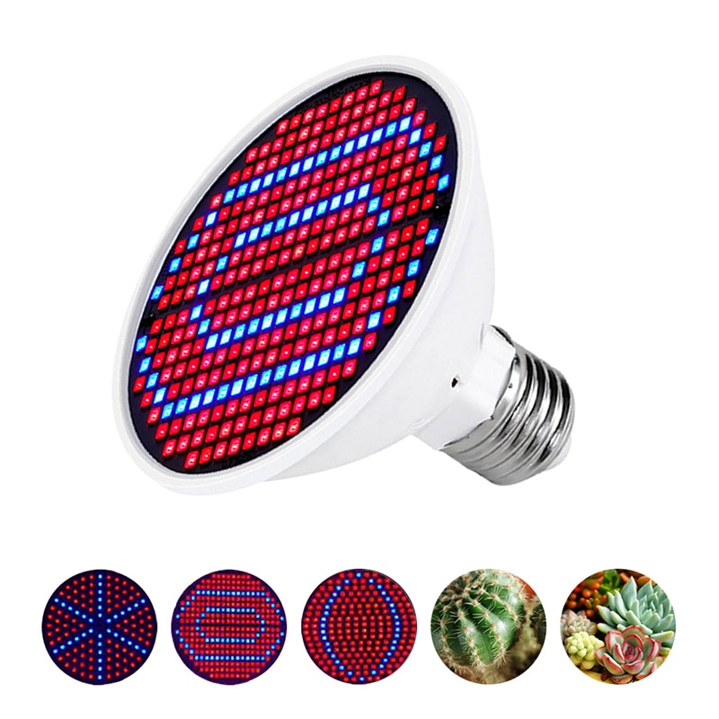 E27 Full Spectrum Phytolamp For Plant Lamp Hydroponic Greenhouse Led Grow Light Grow Tent Lights Bulb Grow Lamp Indoor Lighting