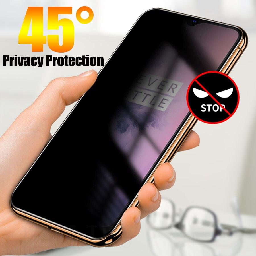 Para OPPO encuentra X2 Reno ACE 4 3 2 2Z 2F A5 A9 A31 A91 A8 A11X A11 Pro de privacidad de 2020 Protecto película Anti mirón de templado de vidrio de película