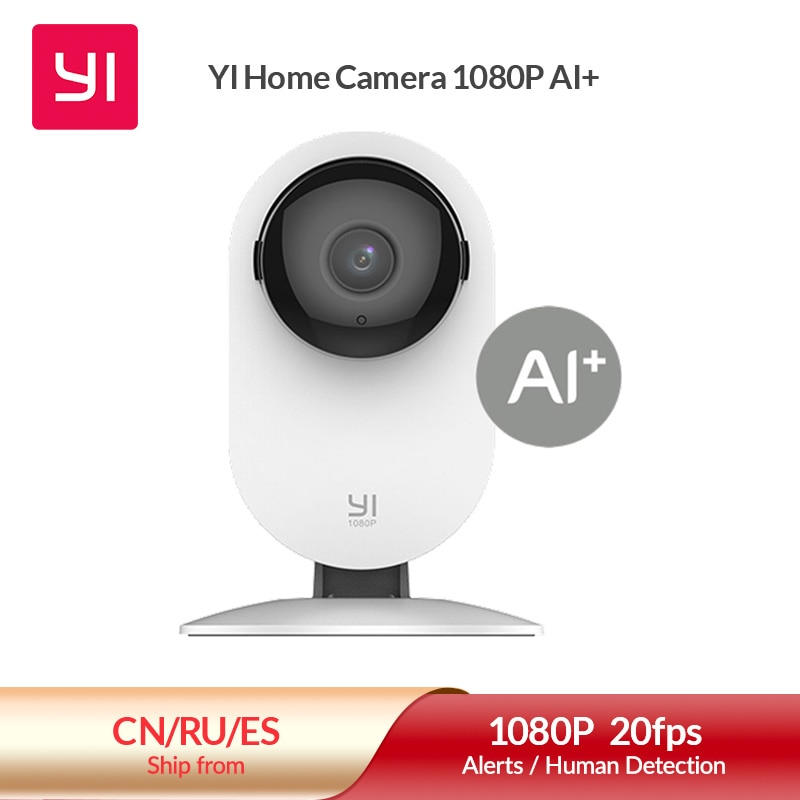 YI 1080p Home Camera IP Camera Smart Video Cams With Montion Detect Wifi Camera Security Protection Mini Camera Pet Cat Dog Cam