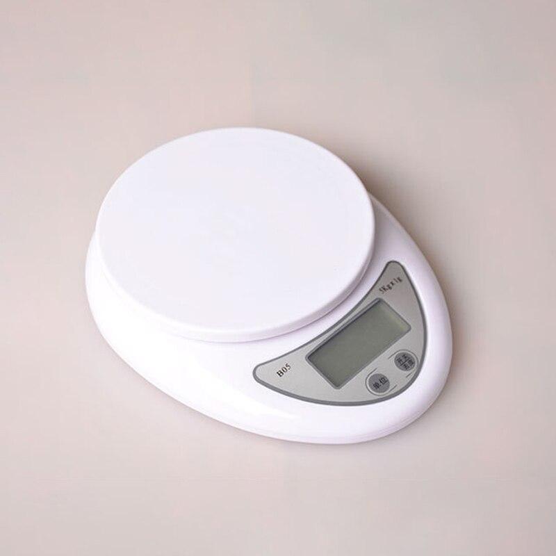 Портативные цифровые весы 5 кг/1 г, светодиодные электронные весы, кухонные весы, почтовые пищевые весы, измерительные весы, кухонные аксессу...