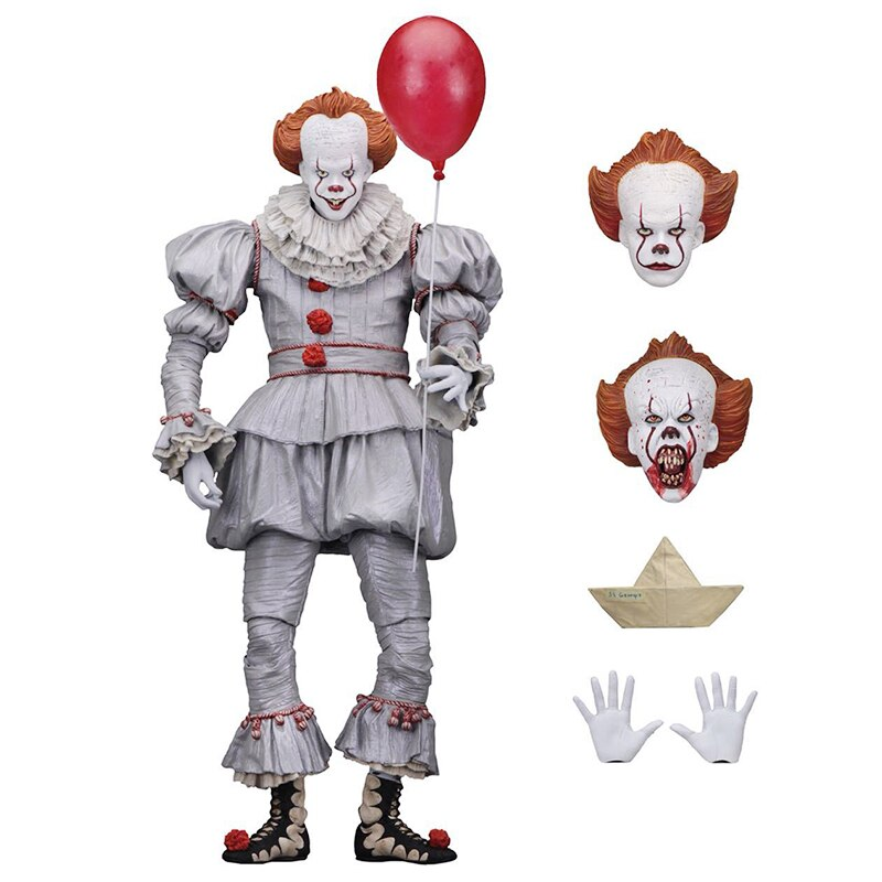 Figuras de acción de altura 18cm PVC juguetes JOCKER muñeca modelo película Fans colección de Souvenir regalo