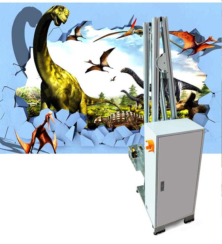 3D вертикальный настенный принтер, прямой настенный струйный принтер, настенный принтер