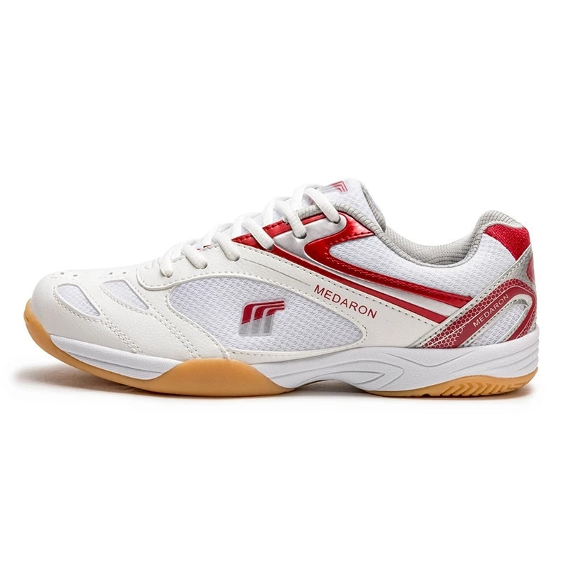 2021 New Table Tennis Shoes Professional Men Women Anti Slip Badmintons for Couples Blue Red Light W