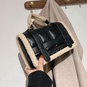 Vintage Handbag Women Crossbody Bags 2021 New Luxury Design Plush Ladies Messenger Bags Casual Totes Female Purses High Qualiy