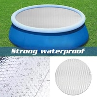 pool cover round swimming pool heat preservation cover dustproof waterproof bubble blanket heat insulation pool cover pool parts