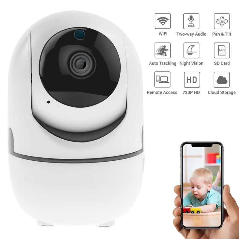 Defeway 720P Drahtlose Ip-kamera Smart Auto Tracking Home Security Surveillance Wifi IP Kamera Baby Monitor Pet Smart CCTV kamera