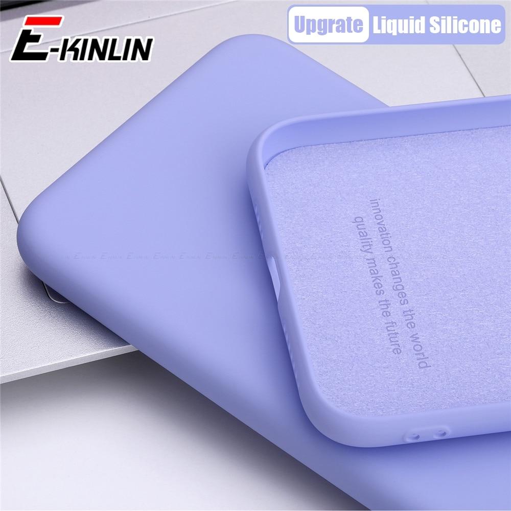 Magro Suave Completa Capa Protetora de Silicone Líquido Sólido Simples Caixa Do Telefone Para Oppo R15x R15 R17 RX17 Pro Neo