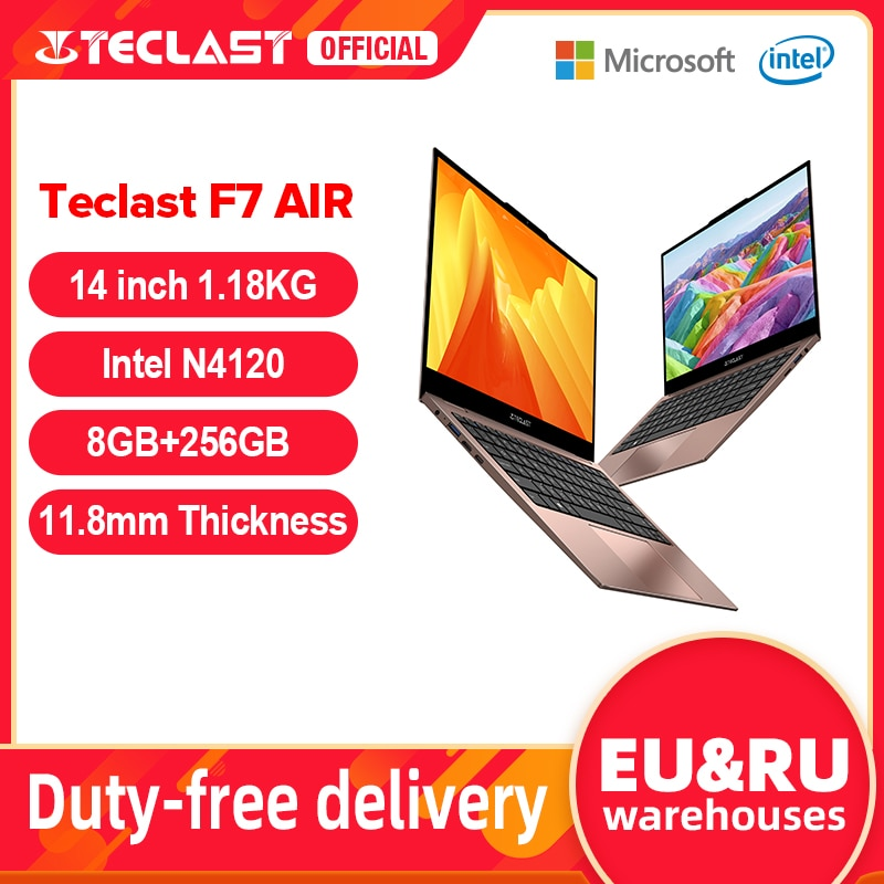 Newest Teclast F7 Air Laptop 1.18KG 14