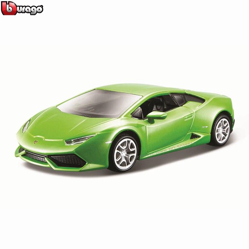 Модель автомобиля Bburago 1:32 Lamborghini Huracan LP610, Пылезащитная базопосылка Упаковка из оргстекла для сбора подарков