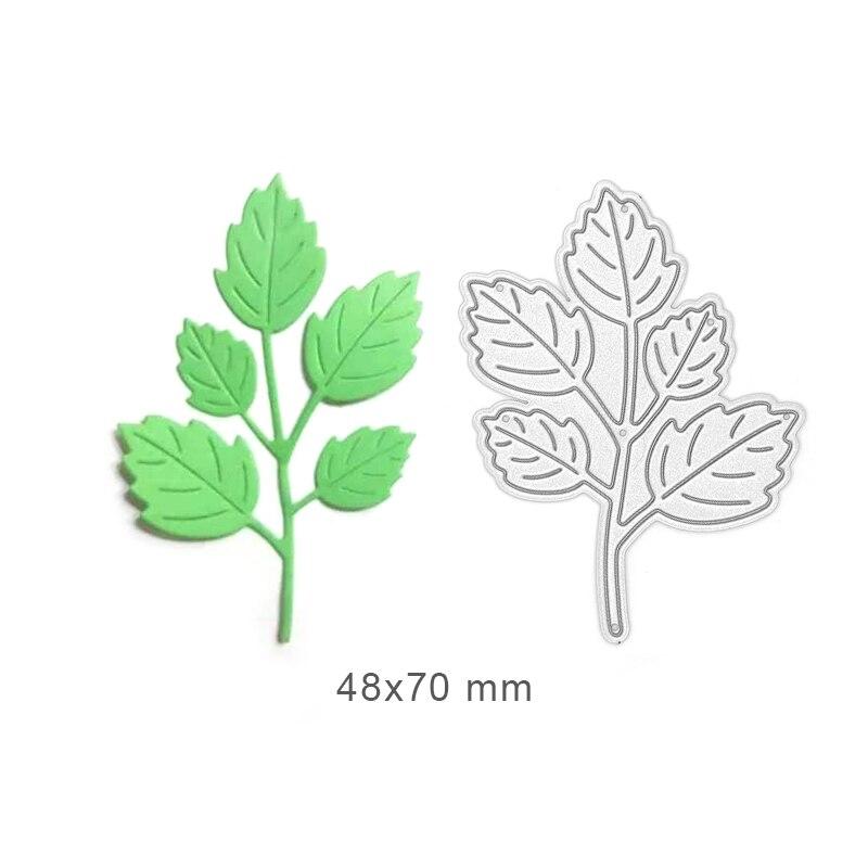 Leaves Dies Metal Cutting Dies Leaf Scrapbook Dies Cut Craft Supplies Card Making