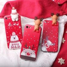 Noël Santa Pour Meizu E2 M2 M3s Mini M3E M5 M5c A5 M5S M1 M2 M3 M5 M6 MX4 Note 6 MX5 MX5E U10 U20 Sac de Couverture