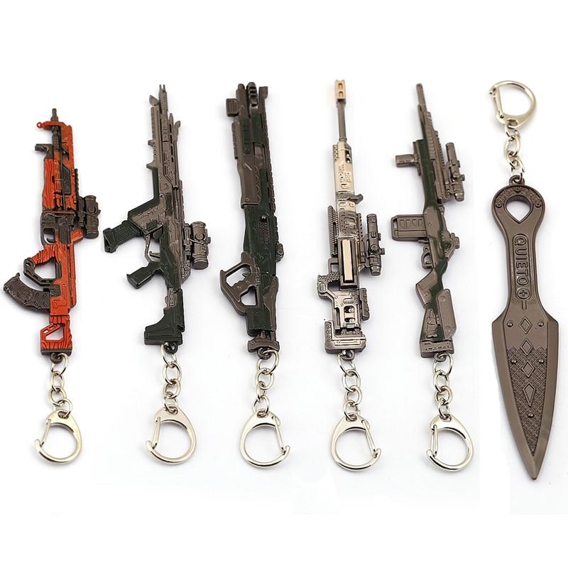 Брелок для ключей для мужчин и женщин с металлическим злом духом, нож для оружия, брелок для автомобиля, винтажный брелок для ключей, ювелирн...