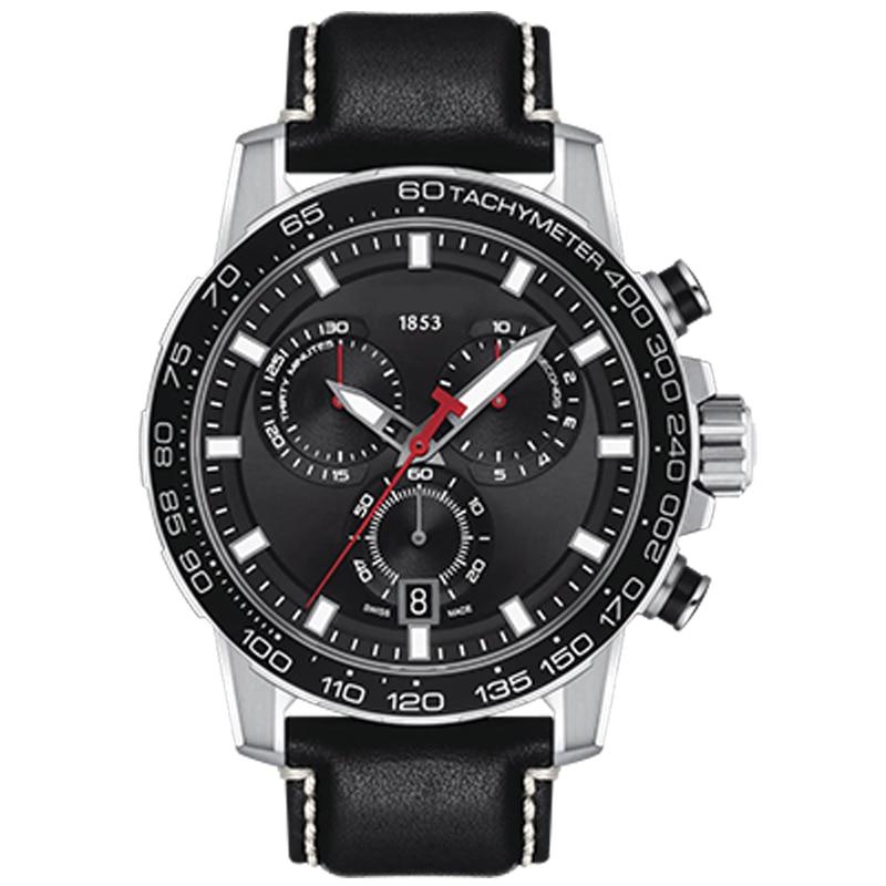 45,5mm nuevo reloj de cuarzo para hombres T125617A reloj digital impermeable T125.617.16.031.00 Speed dare series ETA G10.212 movimiento