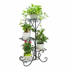 Flower Rack, Multi-layer Iron Art Indoor Flower Rack, Living Room, Landing Flower Rack Balcony, Green Flower Rack, Flower Rack,