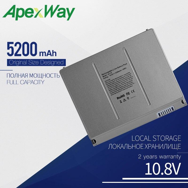 "5200mAhLaptop batterie für APPLE MACBOOK PRO 15 ""A1150 MA348 MA348 */A MA348G/EINE MA348J/EINE A1260 MA463 MA464 MA600 MA601 MA609 MA610"