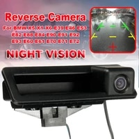 new auto car rear view camera reverse parkin hd ccd for bmw x5 x1 x6 e39 e46 e53 e82 e88 e84 e90 e91 e92 e93 e60 e61 e70 e71 e72