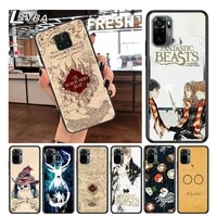 harries painting for xiaomi redmi note 10 10s 9 9t 9s 9pro max 8t 8pro 8 7 6 5 pro 5a 4x 4 soft black phone case
