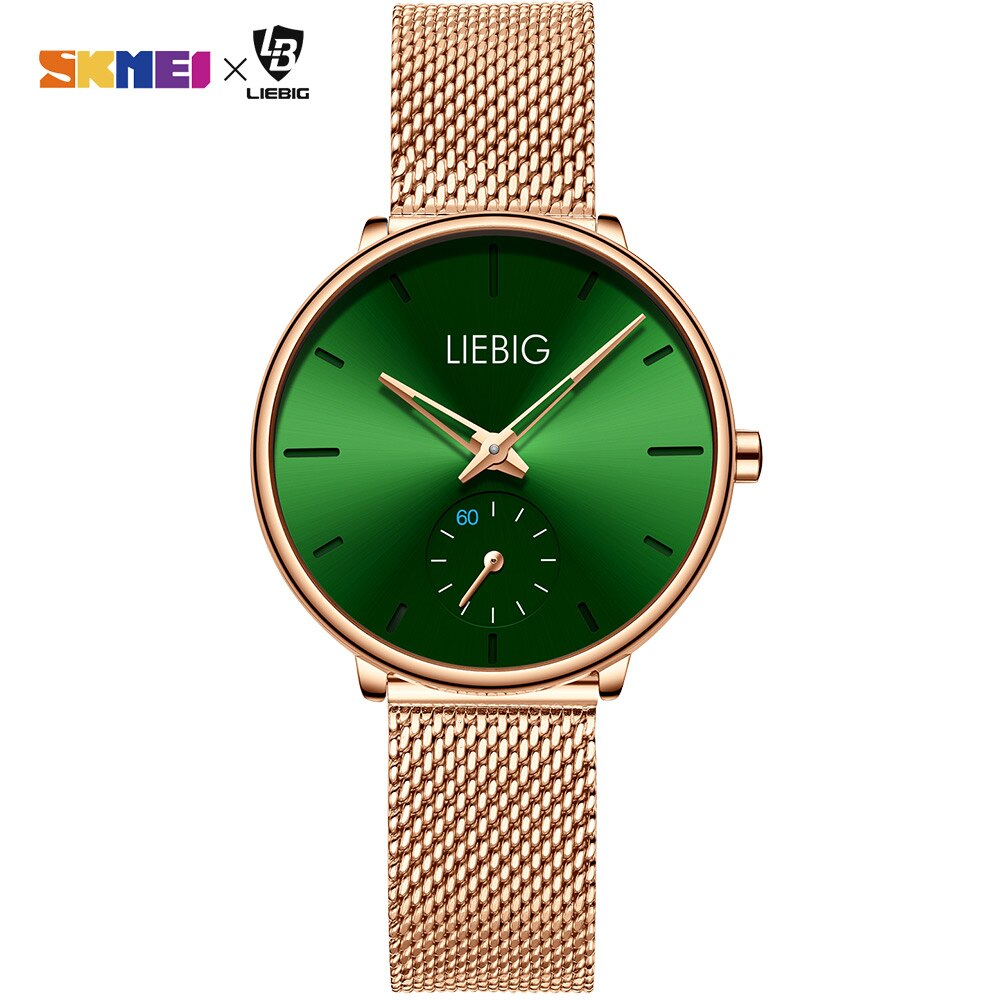 Simple Women Quartz Watch Top Brand Luxury Waterproof Wristwatches Lady Watch Full Steel Female Clock Relogio Feminino L4001 enlarge