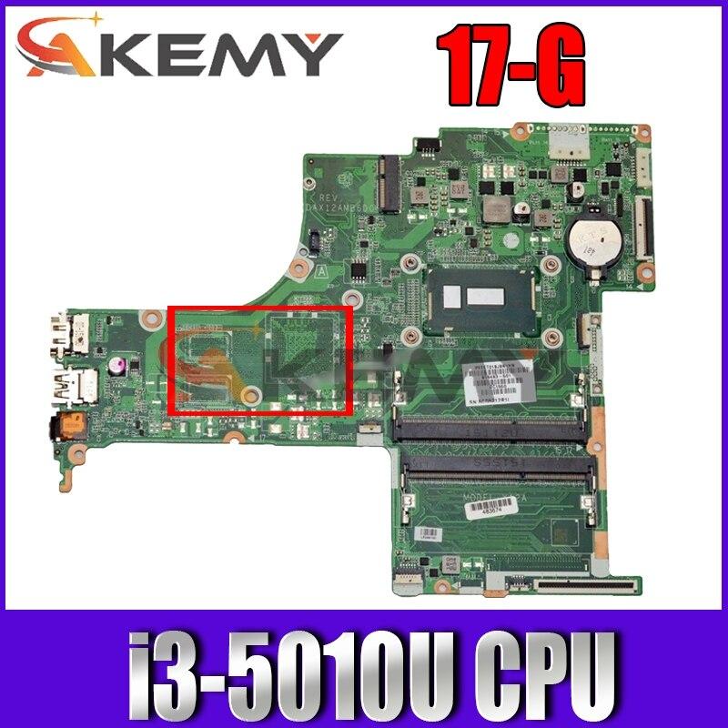 ل HP بافيليون 17-G سلسلة اللوحة المحمول 809317-501 809317-001 مع i3-5010u وحدة المعالجة المركزية DAX12AMB6D0 MB 100% اختبار سريع السفينة