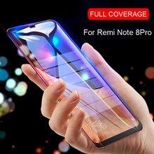 RDCY 6D verre trempé à couverture complète pour Xiaomi Redmi note 8 8T 9 Pro 9S film de verre sur Redmi 7 8 7A 8A 10X K30 Pro
