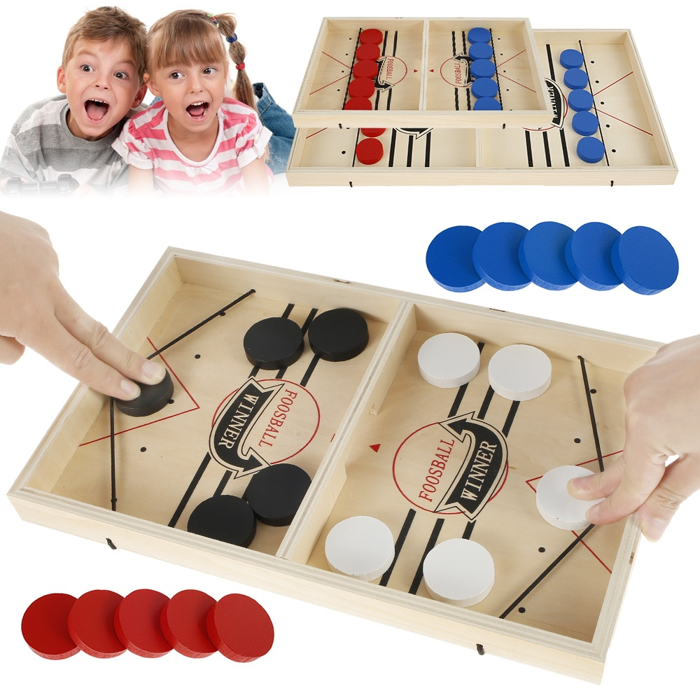 Фото - Семейная настольная игра для хоккея, настольная игра, шахматы, настольные игры, катапульта, быстрая интерактивная игрушка для родителей и д... настольные игры bradex настольная игра пальчиковый футбол