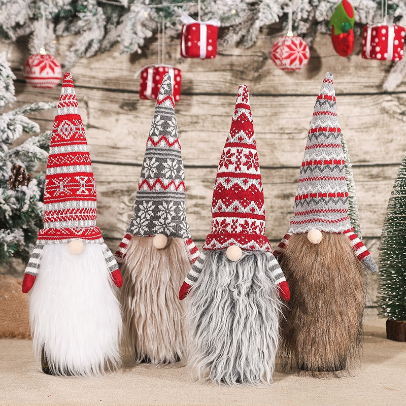 New Year Decoration Christmas Wine Bottle Cover Merry Christmas Decorations for Home Xmas Table Decor Santa Claus Gift Navidad santa claus snowman elk christmas decorations wine bottle cover plaid linen bottle decoration champagne bottles topper bag
