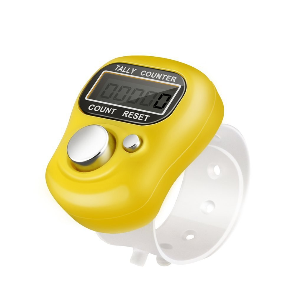 Contador de dedos, accesorio de herramientas de costura, marcador de punto electrónico...