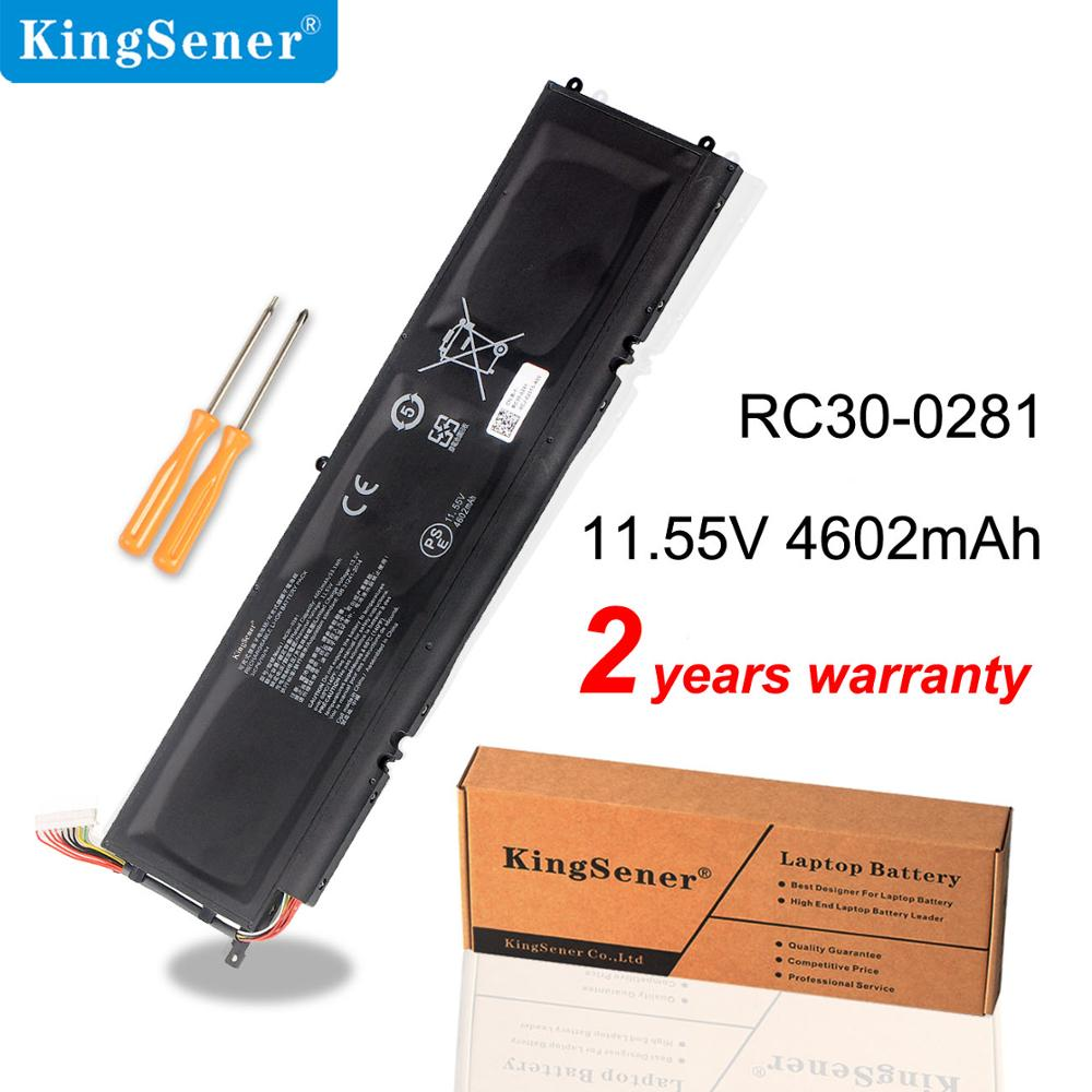 Kingsener RC30-0281 batterie dordinateur portable pour lame Razer furtif 13 2018 2019 GTX 1650 max-q RZ09-03102E52-R3U1 RZ09-02812E71 4602mAh