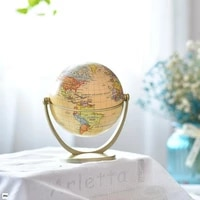 modern home arts and crafts small teaching art globe english version plastic technology teaching desktop ornaments