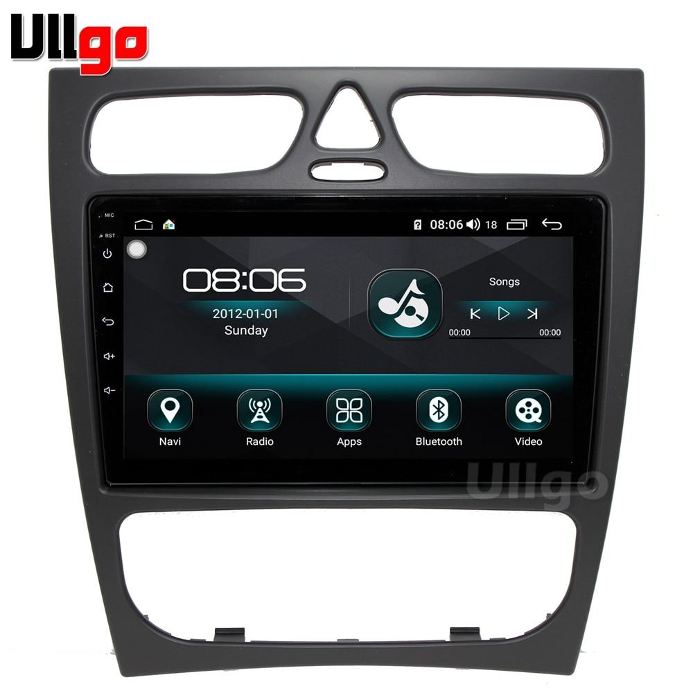 Android auto unidad para Mercedes Benz W203 W208 W209 W210 W463 Vito Viano Auotradio GPS coche unidad Multimedia Navi 4G LTE