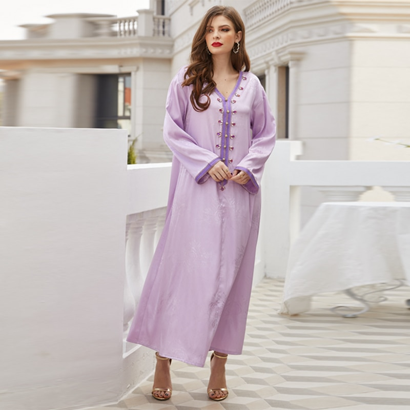 Ramadan Eid Moubarak Abaya Dubai Muslim Fashion Dress Turkey Islam Clothing Dresses For Women Robe Femme Longue Vestido Longo