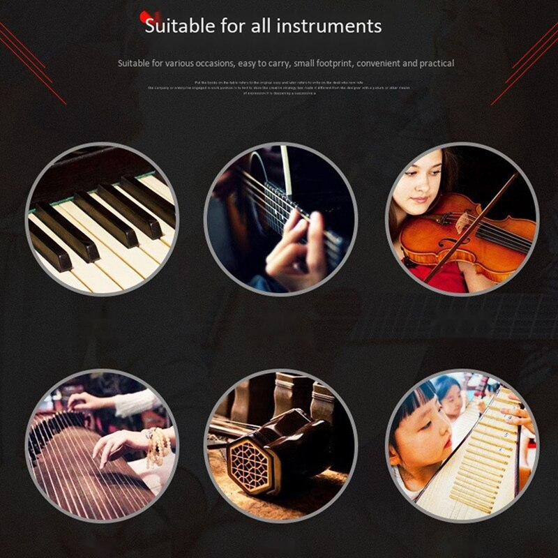 50PCS Music Score Folder Music Note Folder Clef Folder Music Score Folder Musical Instrument Universal enlarge