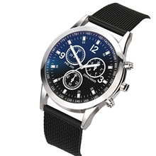 Luxury Watches Quartz Watch Fashion Round Dial Casual Wrist Watches For Men Stainless Steel Men Watc