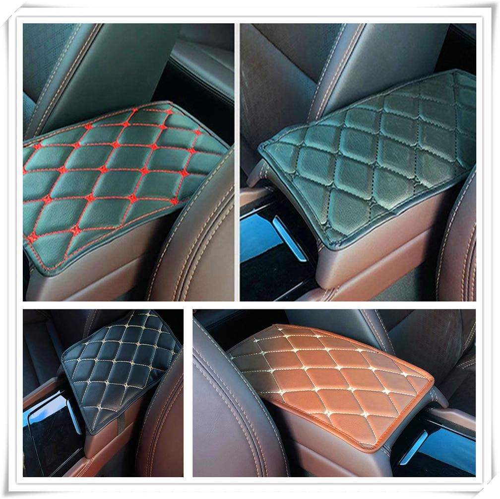 Car Armrest Mat Storage Box Arm rest Pad Cushion Pad for Subaru Forester Ascent XV WRX VIZIV Outback Legacy Impreza Crosstrek