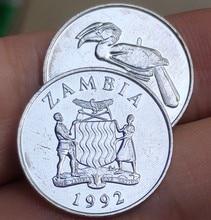 20mm Sambia 1992, 100% Echte Echtem Comemorative Münze, Original Sammlung
